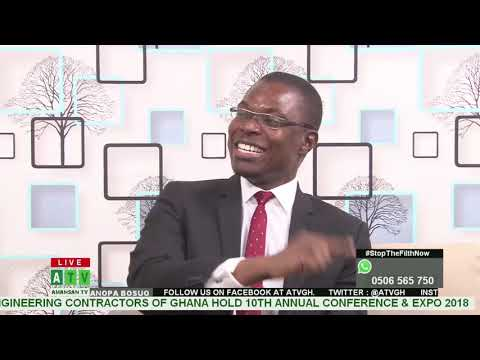 State of the Economy in Ghana with Hon. Alex Akuoku