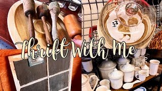 COME THRIFT WITH ME | Home Decor Thrifting