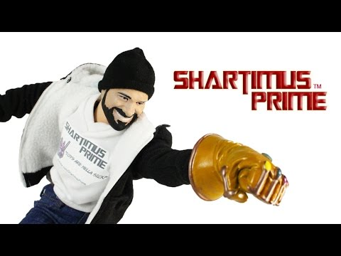 Hot Toys ShartimusPrime 1:6 Scale Custom Action Figure Review