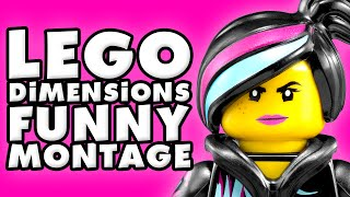 LEGO Dimensions Funny Montage!