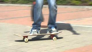 kickflip off curb (clean) Thumbnail