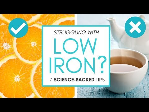 HOW TO IMPROVE LOW IRON LEVELS (7 Science-backed Tips!)