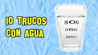10 Trucos Con Agua Que No Conocías - Experimentos Caseros - LlegaExperimentos thumbnail
