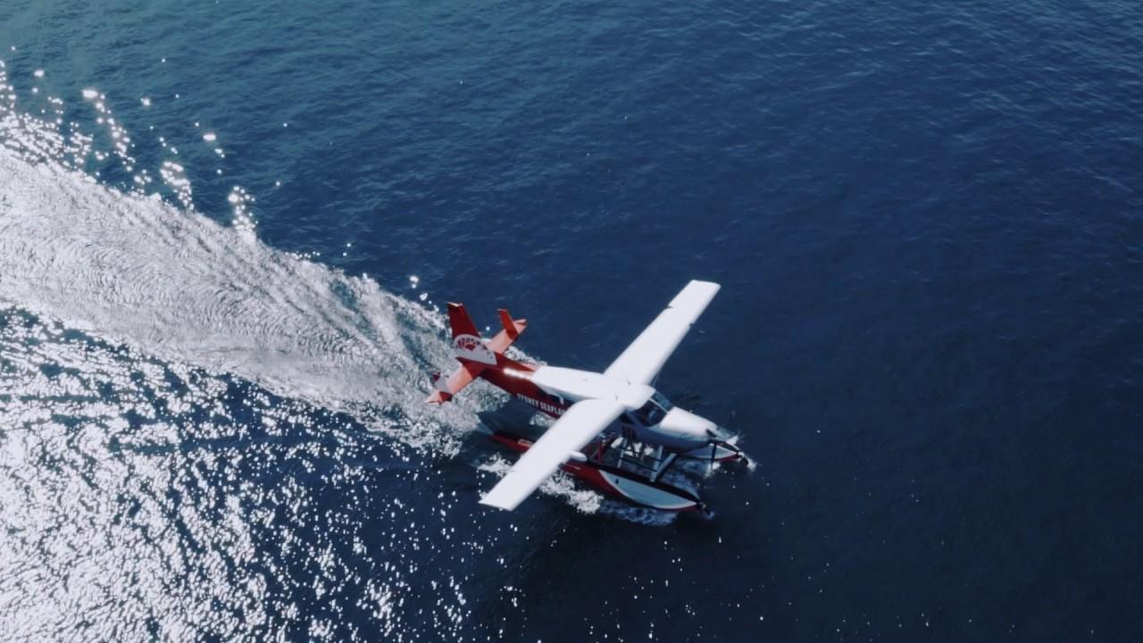 悉尼水上飛機和水上飛機(香港)航空簽署合作備忘錄 Seaplane HK and Sydney Seaplanes signed a memorandum of understanding