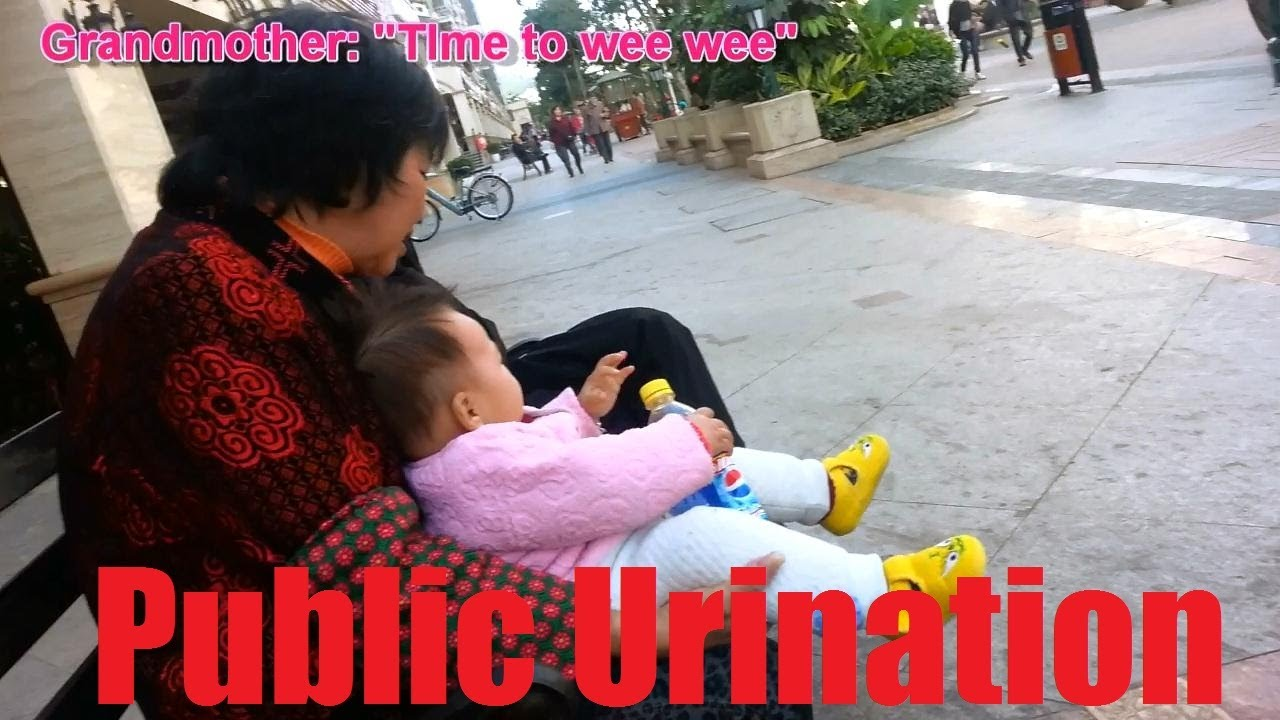 china pissing China, How it is - Public Urination