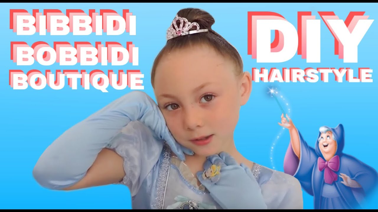 diy disney princess hairstyle | bibbidi bobbidi boutique - youtube