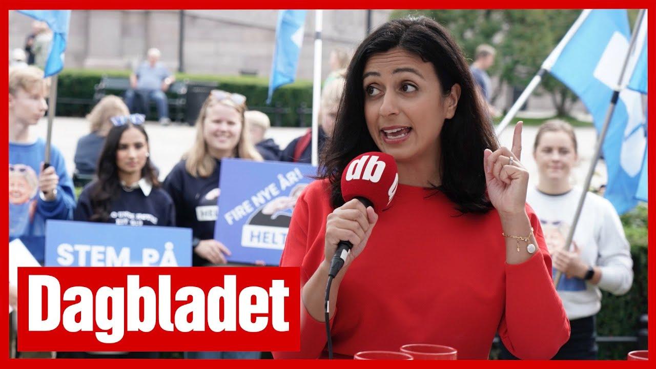 Download VALGBODEN2021#7 Tajik med freidig Dagbladet-stikk til Sanner