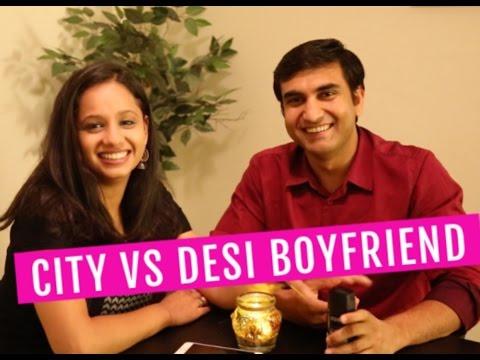 City vs Desi Boyfriend     Lalit Shokeen Comedy  