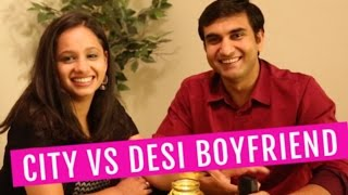 City vs Desi Boyfriend   | Lalit Shokeen Comedy |