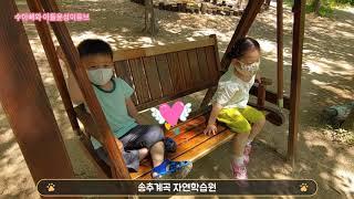 (브이로그) 송추계곡 자연학습원 방문기-44개월