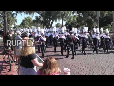 USA: Thousands gather for Tarpon Springs 111th annual Epiphany celebration