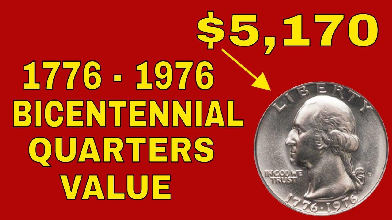 Bicentennial Washington quarter 1776-1976