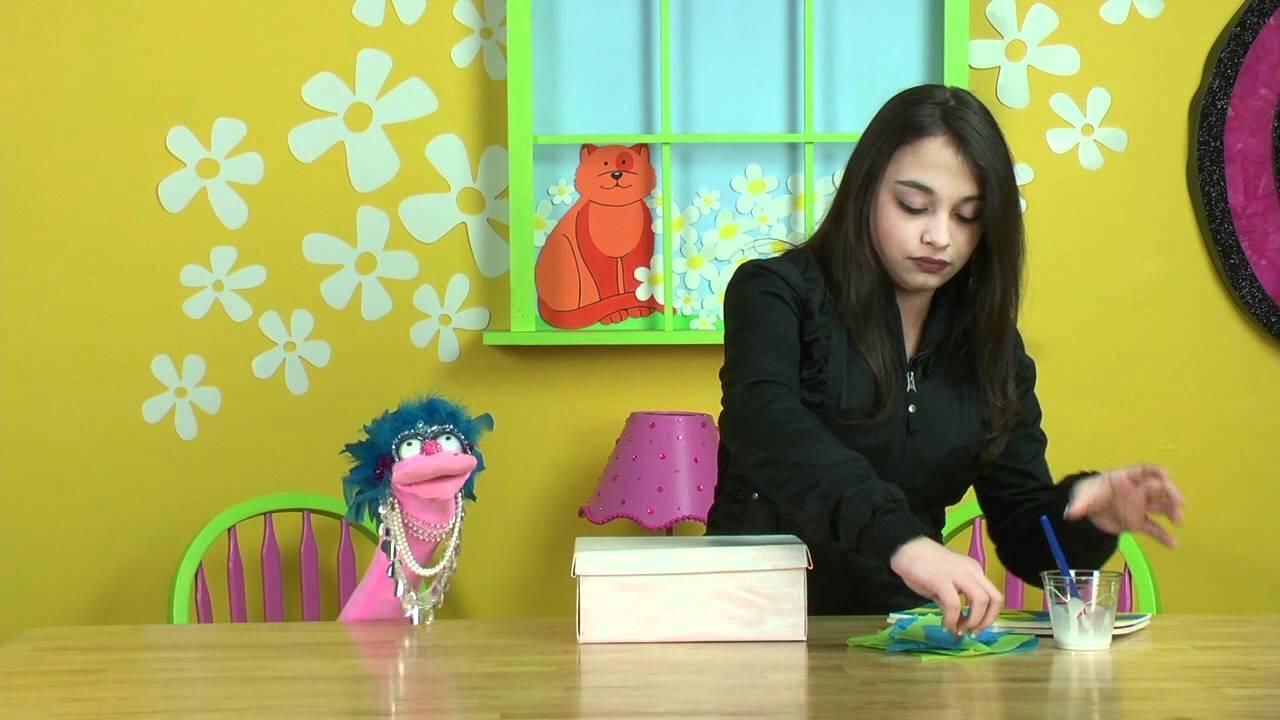 Elena\'s Crazy Kitchen / The Craft Studio: Decorating A Doodle Box ...