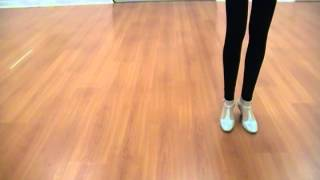 line dance walkthru Knock Three Times