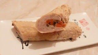 Новогодние рецепты Домашняя колбаса с грибной начинкой вкусно просто недорого