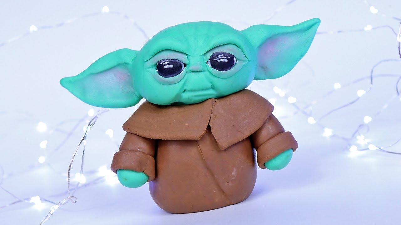 Baby Yoda Cake Topper | Star Wars Mandalorian Tutorial ...