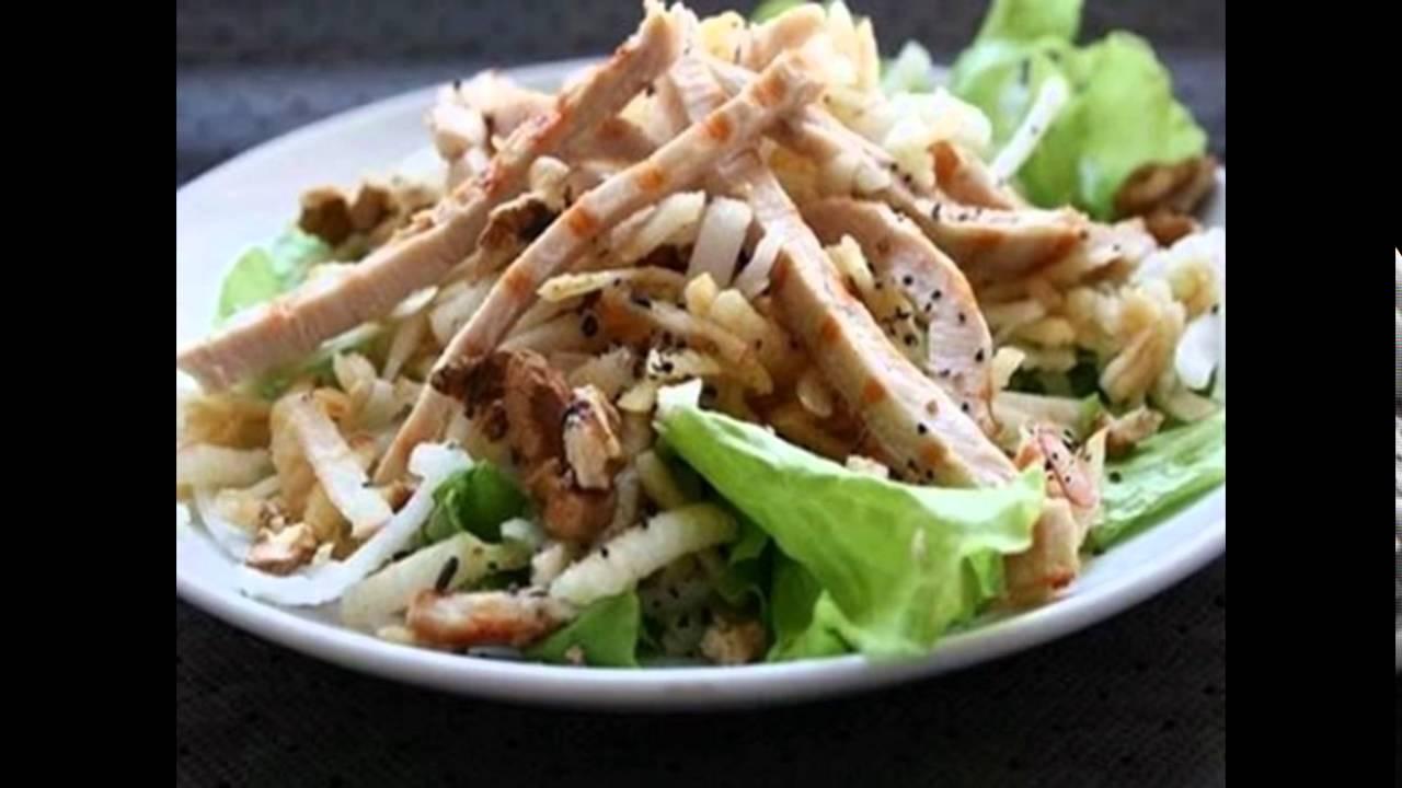 рецепт салат лесной
