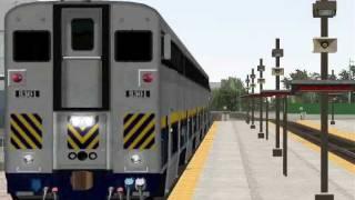 MSTS Amtrak California - Bakersfield to Sacramento