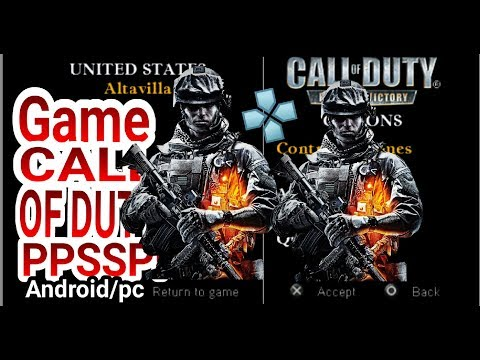 Tutorial Cara download Dan Install Game PPSSPP || Call Of Duty Roads To Viktory || Android /Pc thumbnail