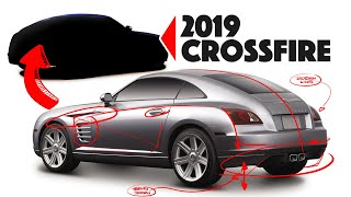 Chrysler Crossfire Re-design - What would it look like if made today??