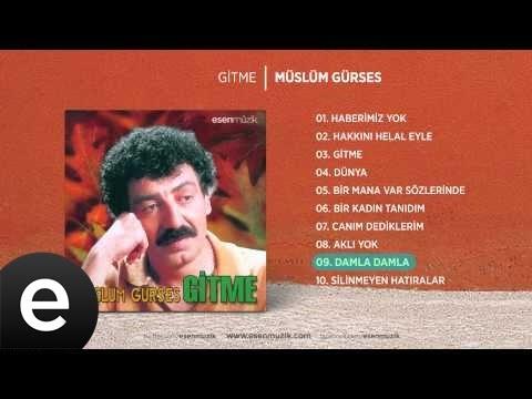Damla Damla (Müslüm Gürses) Official Audio #damladamla #müslümgürses - Esen Müzik