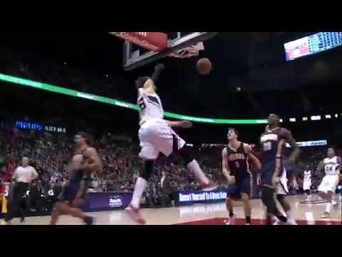 Kyle Korver dunks