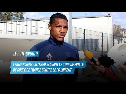 Lenny Joseph (Attaquant Le Puy Foot 43) - ITW avant le 16ème de finale de CDF contre Lorient