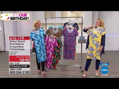 HSN | Slinky Brand Fashions Celebration . http://bit.ly/2ZPmQ0L