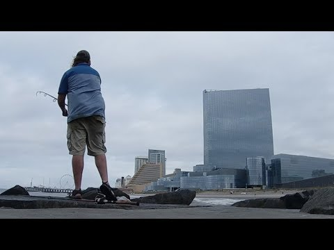 Atlantic City JETTY Fishing! (bonus: Field Trip!)