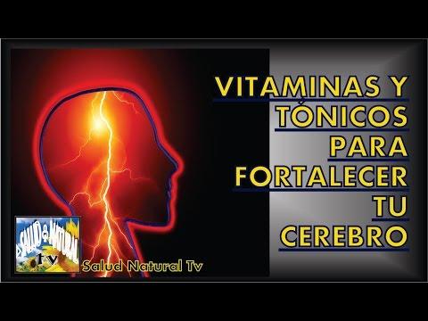 vitaminas para fortalecer el cerebro y la memoria