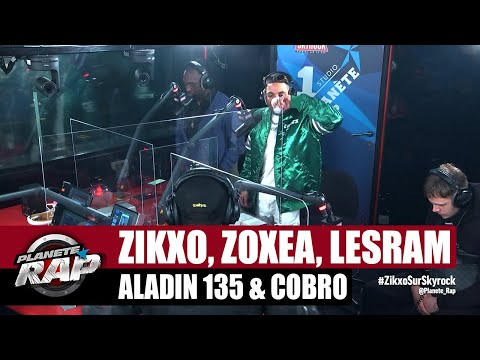 Youtube: Zikxo – Session freestyle avec Zoxea, Aladin 135, Lesram et Cobro! #PlanèteRap