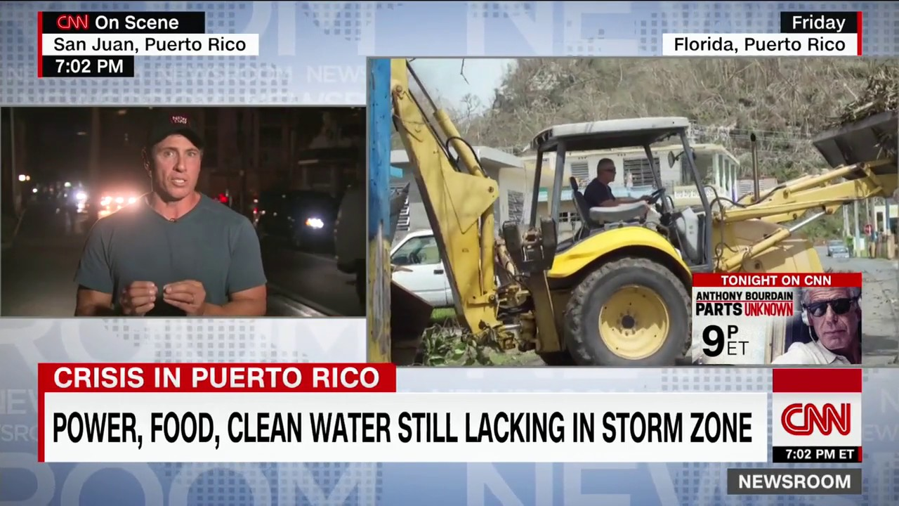 Chris Cuomo: Puerto Ricans can't be lying about aid