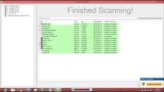 Restore Recover files using Kickass Undelete.1.3 beta