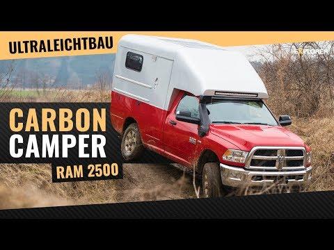 Custom Carbon-Fiber Camper – RAM 2500 Pickup-Truck