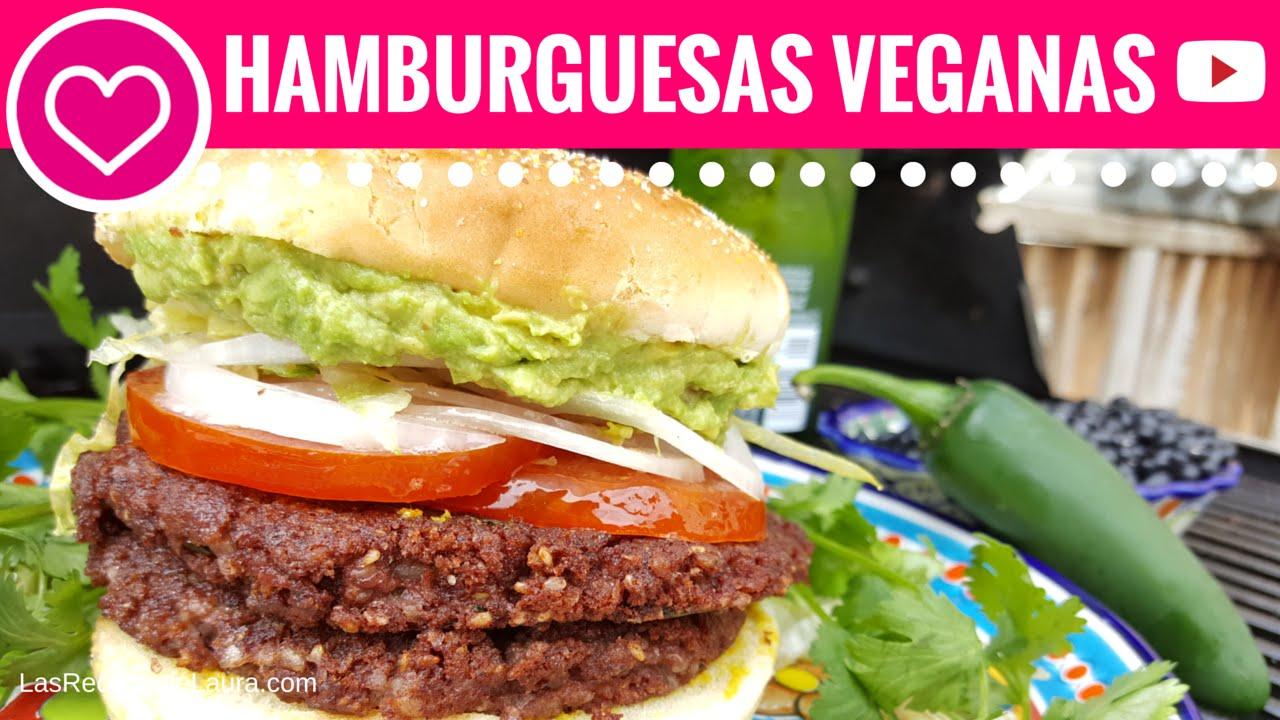 Hamburguesas vegetarianas las recetas de laura recetas - Comidas ricas sanas y faciles ...
