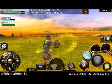 【プレイ動画】オルクスオンラインαテスト ノンターゲティングMMORPG