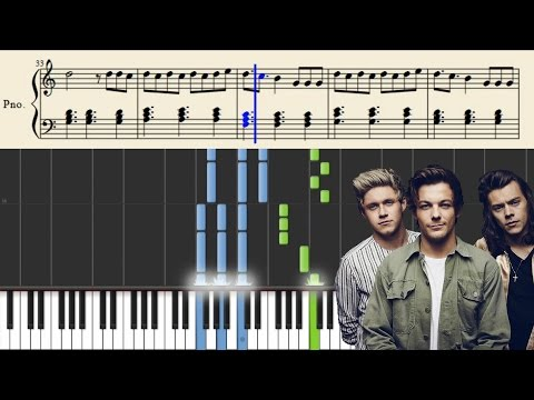 One Direction - Perfect - Piano Tutorial + Sheets