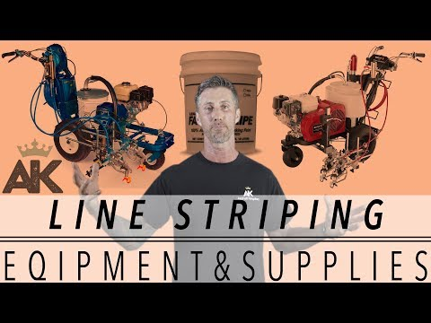 LINE STRIPING EQUIPMENT AND SUPPLIES | Line Stripers & Traffic Paint
