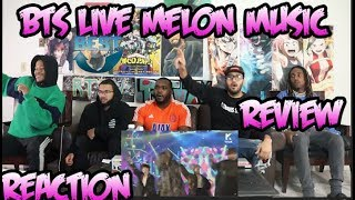 BTS LIVE Melon Music Awards 2018 | WHO ARE YOU 멜론뮤직어워드 | REACTION/REVIEW