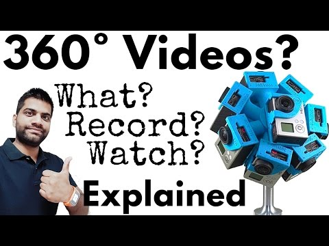 360 Degree Video Explained | How to Record and Watch?