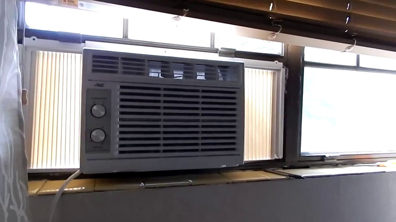 Home Improvement: Arctic King Window AC Unit Installation
