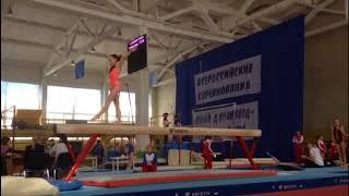 Всероссийские соревнования , по спортивной гимнастике, г. Брянск 2018