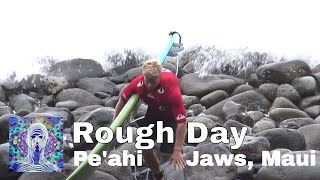 Rough Day Surfing at Pe´ahi, Jaws - Maui Dec. 13th 2017