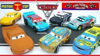 Disney Cars 3 Movie Diecasts 5 Pack Shows new Thunder Hollow Piston Cup Racers