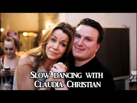 CLAUDIA CHRISTIAN BIRTHDAY SLOW DANCE