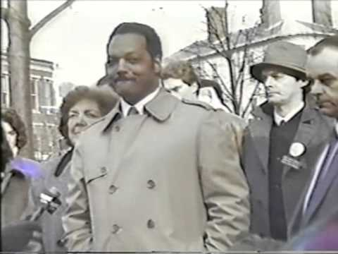 Jesse Jackson in Portsmouth, NH 1988