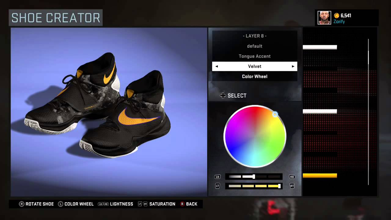 NBA 2K16 Shoe Creator - Nike Hyperrev 2016 PE
