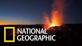 飛越留尼旺島的「熔爐峰」《國家地理》雜誌