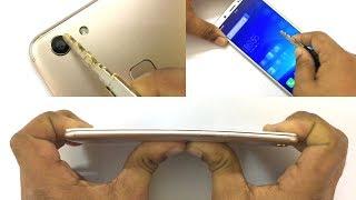 Vivo V7 - Scratch test, Hammer test & Bend test!