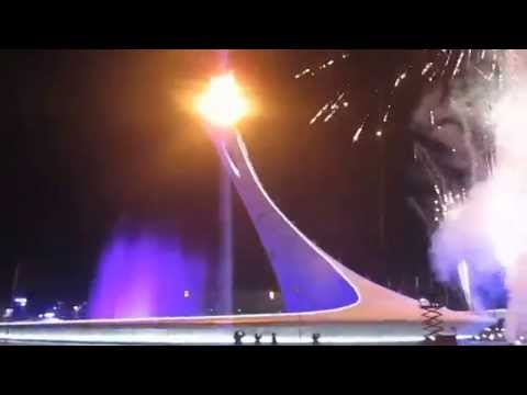Sochi Olympics Opening Ceremony Lighting of the Torch  February 7, 2014